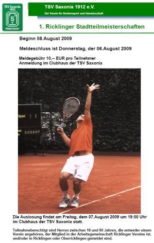 1. Ricklinger Stadtteilmeisterschaft