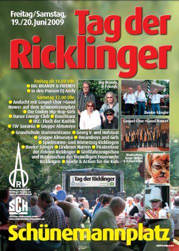 13.Tag der Ricklinger 2009